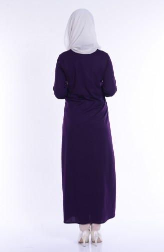 Purple Abaya 1899-06