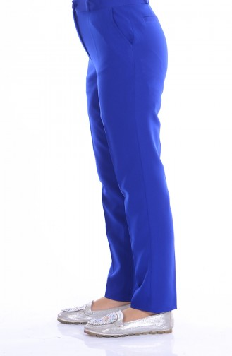 Pantalon Simple 5060-07 Bleu Roi 5060-07