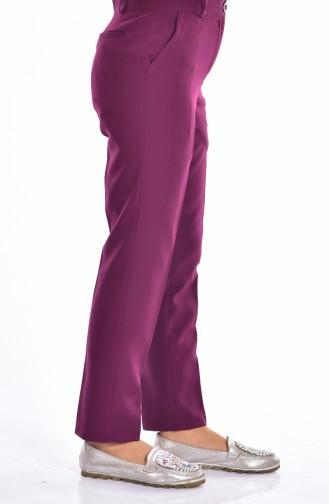 Pantalon Simple 5060-04 Cerise 5060-04