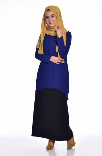 Saxon blue Blouse 1024-02