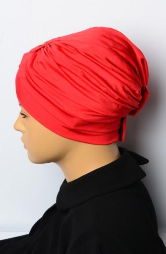 Red Swim Cap 02-06