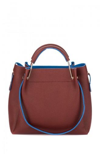 Claret red Shoulder Bag 996-02