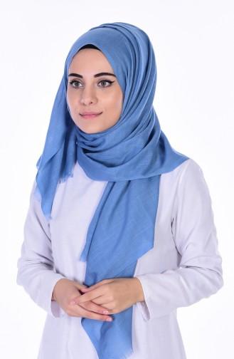 Châle Viscose 70025-30 Bleu 30