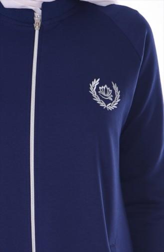 Cape Sport Fermeture a Glissiere 5100-01 Bleu Marine 5100-01
