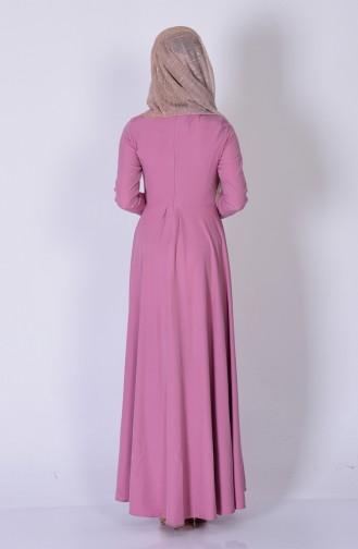 Robe Asymétrique 4055-20 Poudre Foncé 4055-20