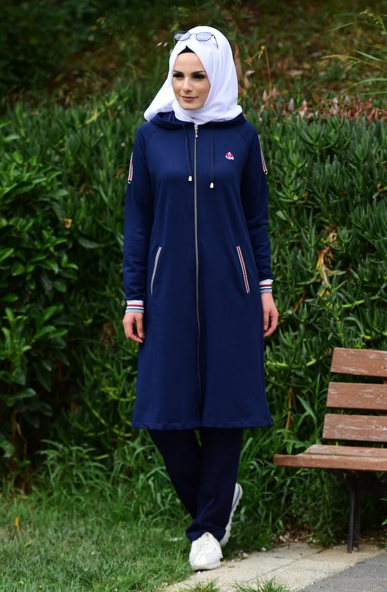 df83f970b7810 Navy Blue Sweatsuit 5000-03