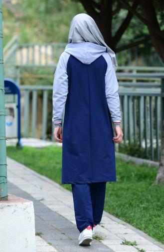 Navy Blue Sweatsuit 5010-02