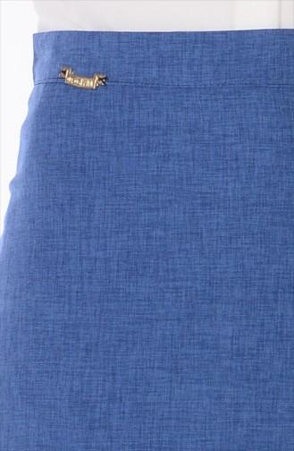 Jupe Plissée 1328-05 Bleu 1328-05