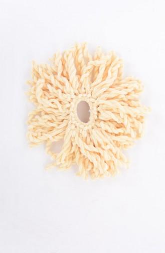 Cream Hair Clip 01-06