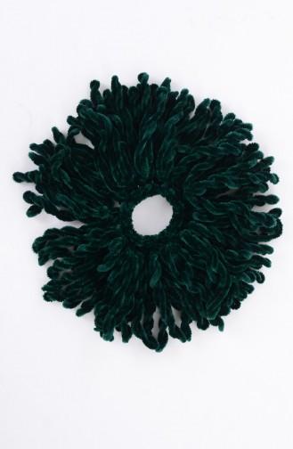 Emerald Hair Clip 01-16