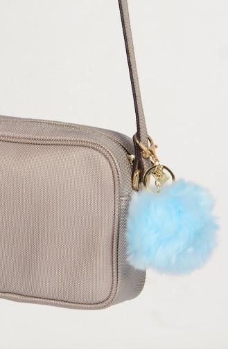 Ponpon Keychain 0011-12 Ice Blue 0011-12