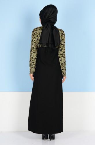 Black İslamitische Avondjurk 2020-01