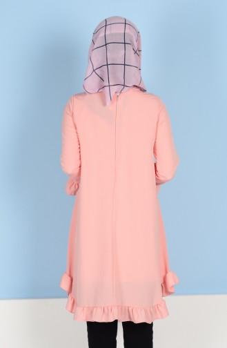 Skirt Tassel Tunic 1013-05 Salmon 1013-05