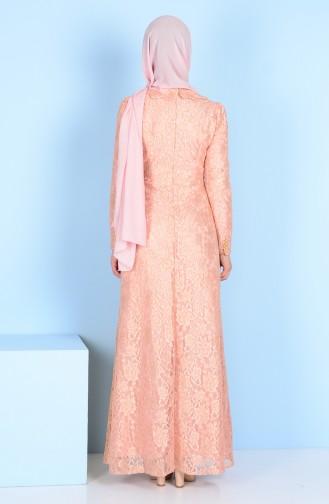 Spitzen Kleid 3117-01 Puder 3117-01
