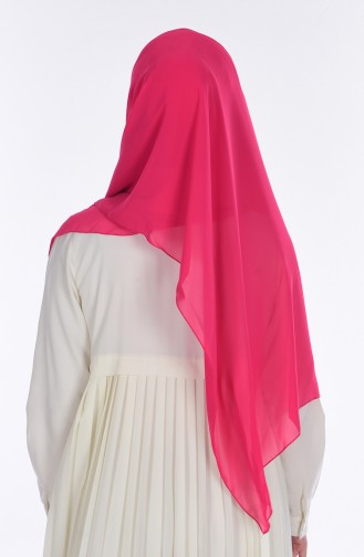 Châle Bonnet Mousseline 17021-25 Fushia 17021-25