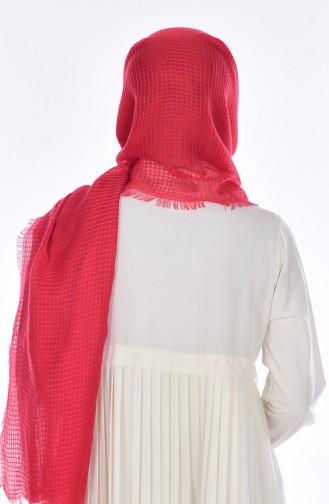 Châle Coton 19031-07 Rouge 07