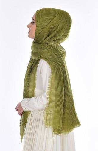 Combet Cotton Looking Shawl 19031-13 Light Khaki 13