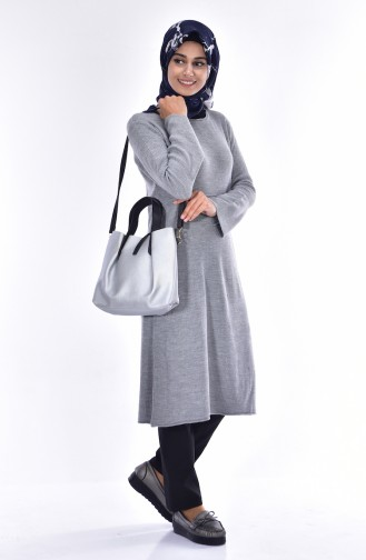 Pull Tricot 3878-07 Gris 3878-07