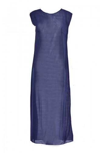 بطانة فستان لون اسود 0715-04