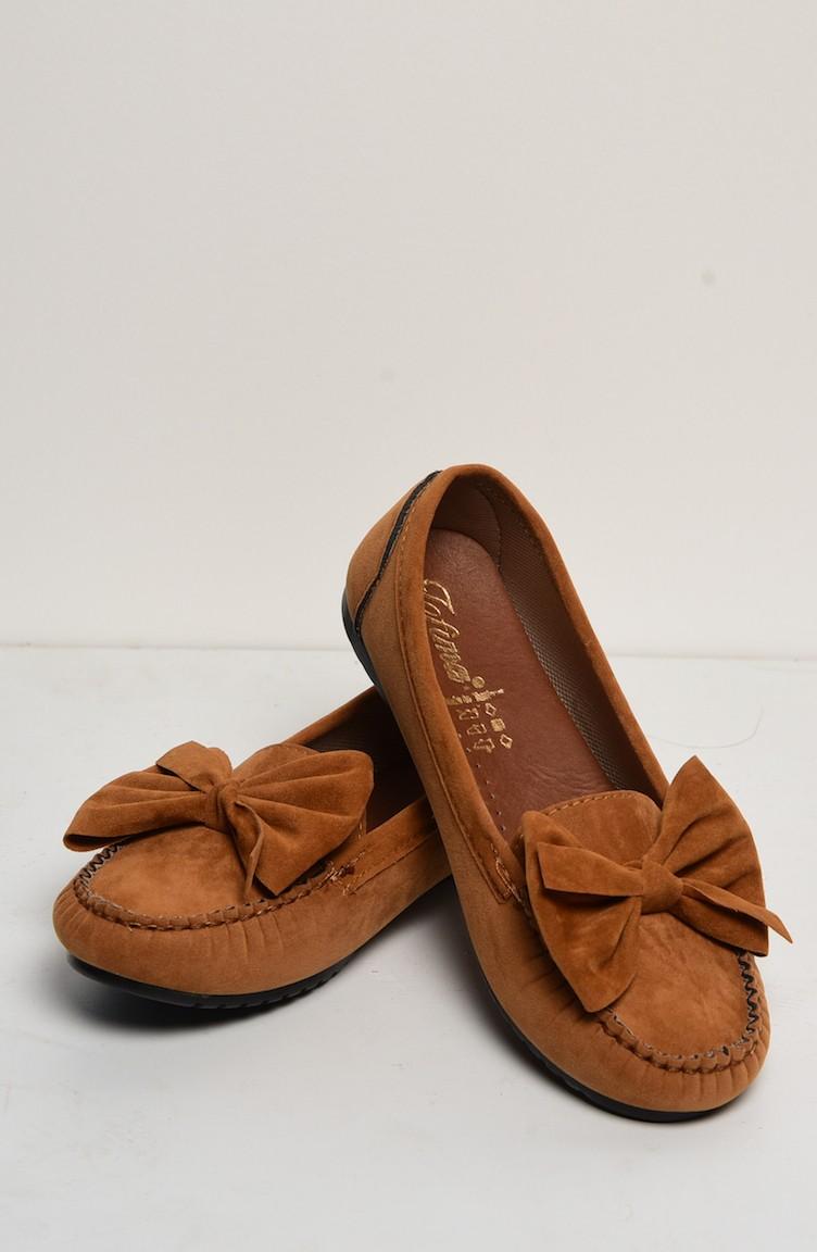 770c69ef79 Babette with Bow-Tie 50068-01 Suede Tobacco 50068-01