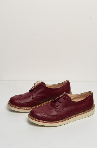 Women`s Shoes 50083-05 Claret Red 50083-05