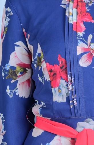 Blau Hijap Kleider 0519-01