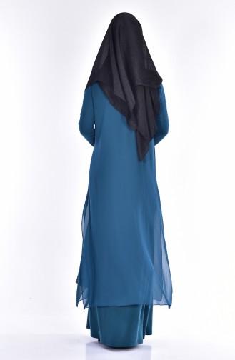 Emerald İslamitische Jurk 7740-02