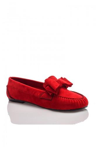Femme Oxford Tilda JB-601-2 Rouge 601-2