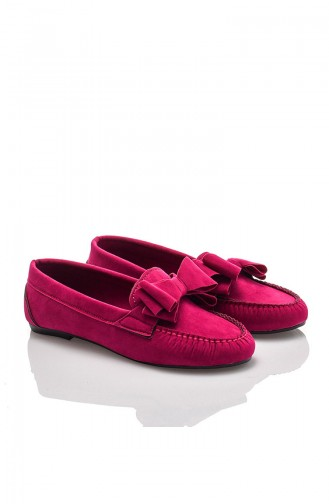 Fuchsia Woman Flat Shoe 603-2