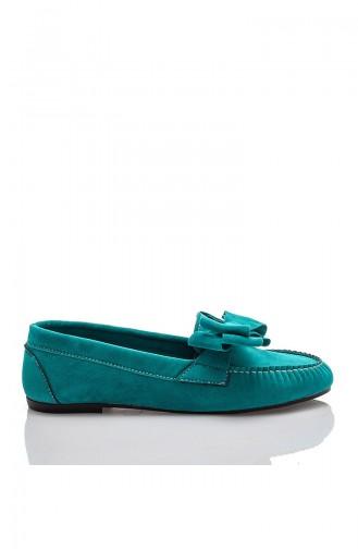 Femme Oxford Tilda JB-605-2 Turquoise 605-2