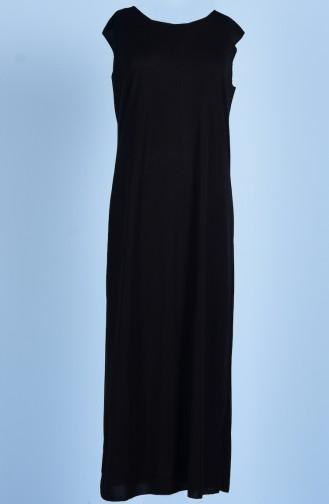 Sefamerve Doublure de Robe 0718-01 Noir 0718-01