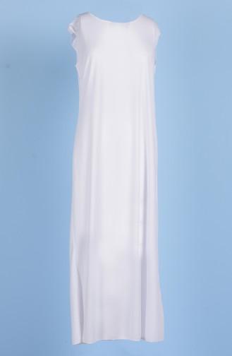 Sefamerve Doublure de Robe 0718-02 Blanc 0718-02