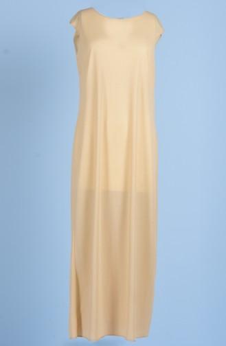 Sefamerve İnnenfutter für Kleid 0718-03 Creme 0718-03