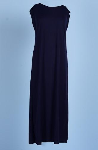 Sefamerve Doublure de Robe 0718-04 Bleu Marine 0718-04