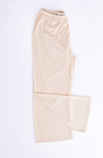 Sefamerve Doublure de Pantalon 0717-03 Creme 0717-03
