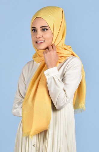 Pale orange Shawl 06