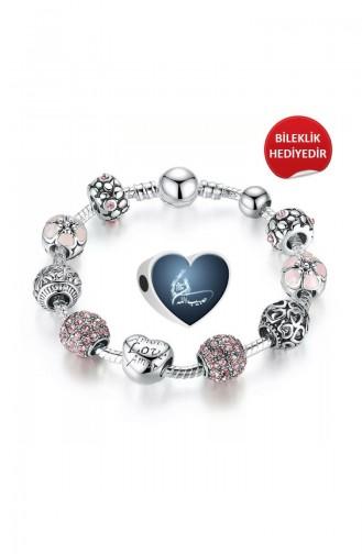 Silver Gray Bracelet 002757