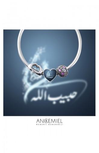 Hz Muhammed Sav Argent Charm Angemiel Bracelet ALM002757 Coloré 002757