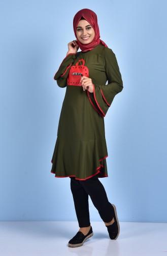 Khaki Tunic 0895-05