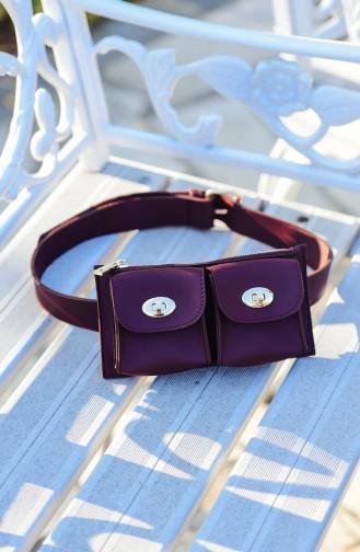 Claret red Belly Bag 1000-02