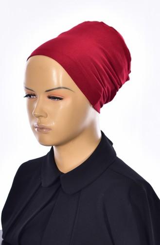 Sefamerve Bonnet Sans Couture Grande Taille 04 Bordeaux 04