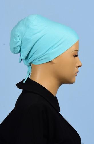 Sefamerve Bonnet Sans Couture Grande Taille 25 Vert Menthe 25