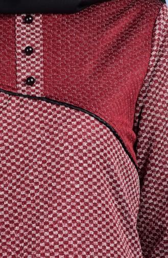 Garnili Tunique 0517-01 Bordeaux 0517-01