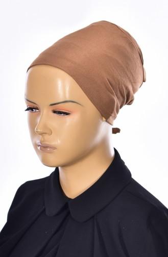 Sefamerve Bonnet Sans Couture Grande Taille 21 Brun Clair 21