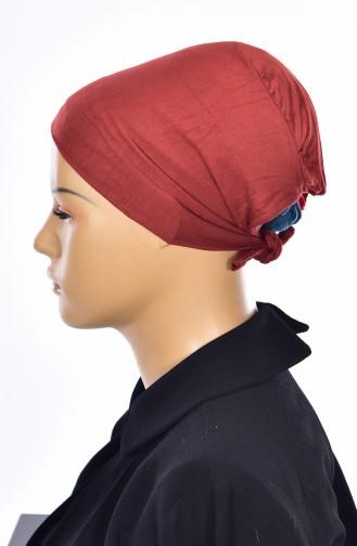 Sefamerve Bonnet Sans Couture Grande Taille 15 Brique 15