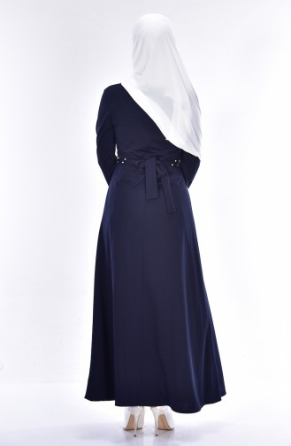 Navy Blue Dress 4411-06