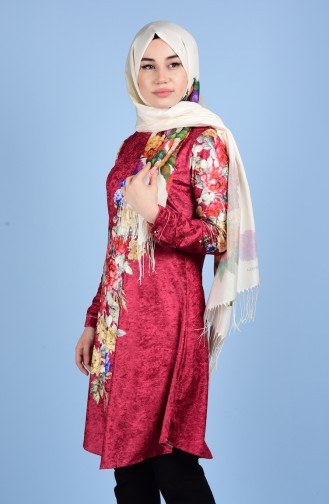 Claret red Tuniek 1009-03