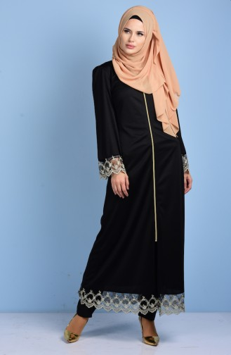 Black Abaya 2021-02