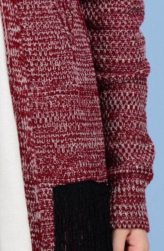 Claret red Tricot 1080-10