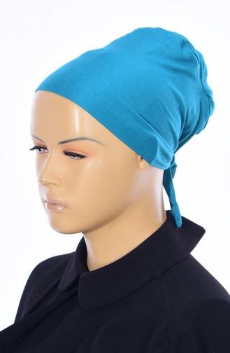 Sefamerve Bonnet Sans Couture Grande Taille 28 Bleu 28